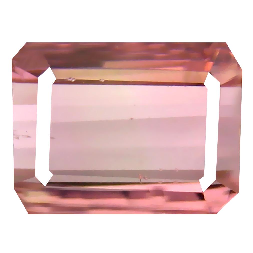 2.92 ct Pretty Octagon Cut (9 x 7 mm) Un-Heated Pink Tourmaline Natural Gemstone