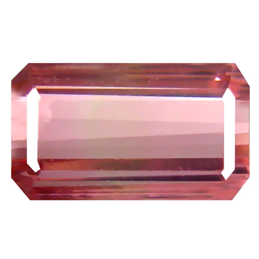 2.48 ct Best Octagon Cut (10 x 6 mm) Un-Heated Pink Tourmaline Natural Gemstone