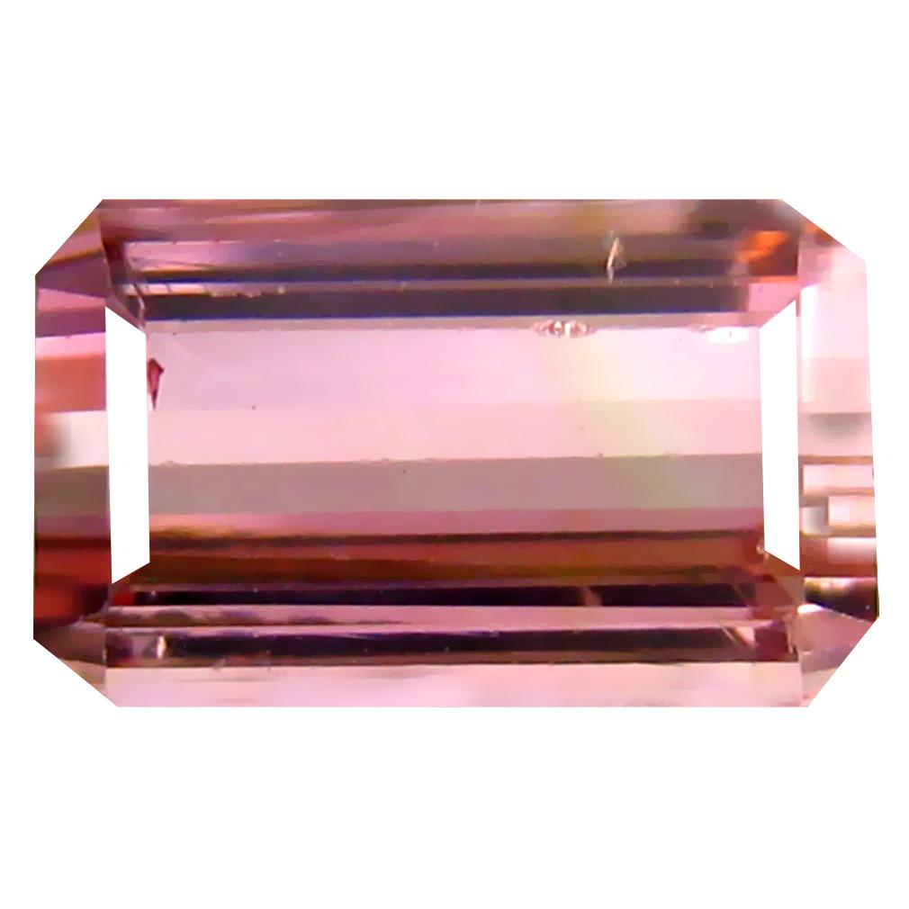 2.71 ct Superior Octagon Cut (10 x 6 mm) Un-Heated Pink Tourmaline Natural Gemstone