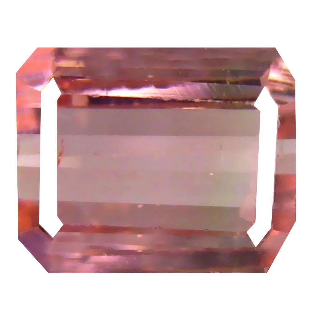 2.33 ct Fantastic Octagon Cut (8 x 7 mm) Un-Heated Pink Tourmaline Natural Gemstone