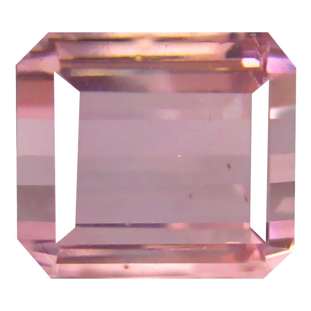 2.97 ct Romantic Octagon Cut (8 x 7 mm) Un-Heated Pink Tourmaline Natural Gemstone