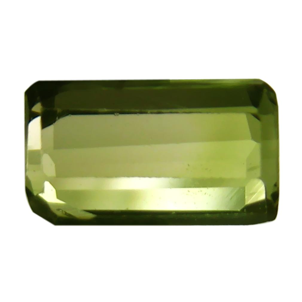 0.80 ct AAA+ Very good Octagon Shape (7 x 4 mm) Bi Color Bi-Color Tourmaline Natural Gemstone