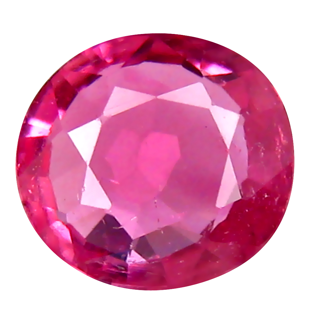 0.59 ct AAA Pretty Oval Shape (6 x 6 mm) Sweet Pink Tourmaline Natural Gemstone