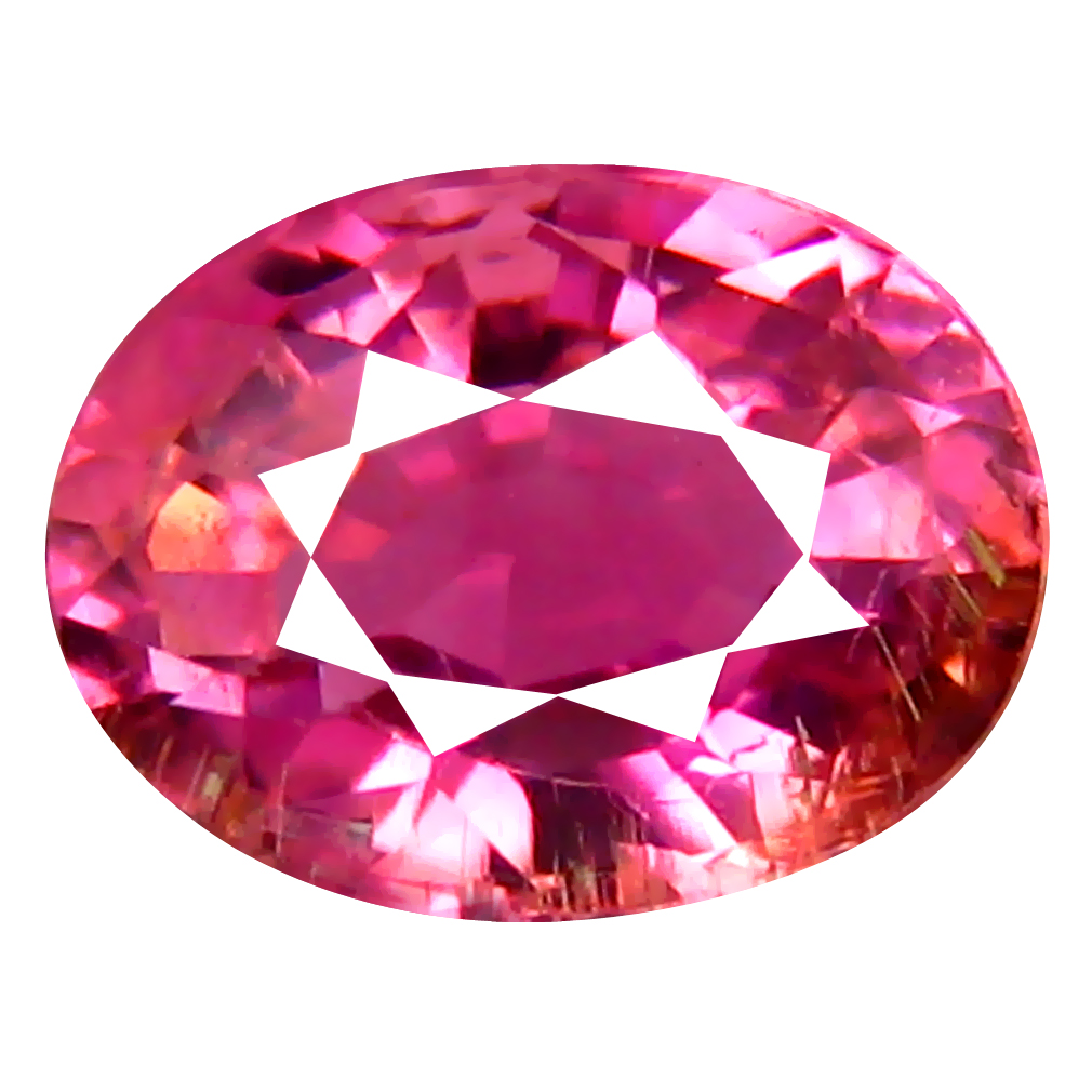 0.73 ct AAA Mind-Boggling Oval Shape (6 x 5 mm) Sweet Pink Tourmaline Natural Gemstone