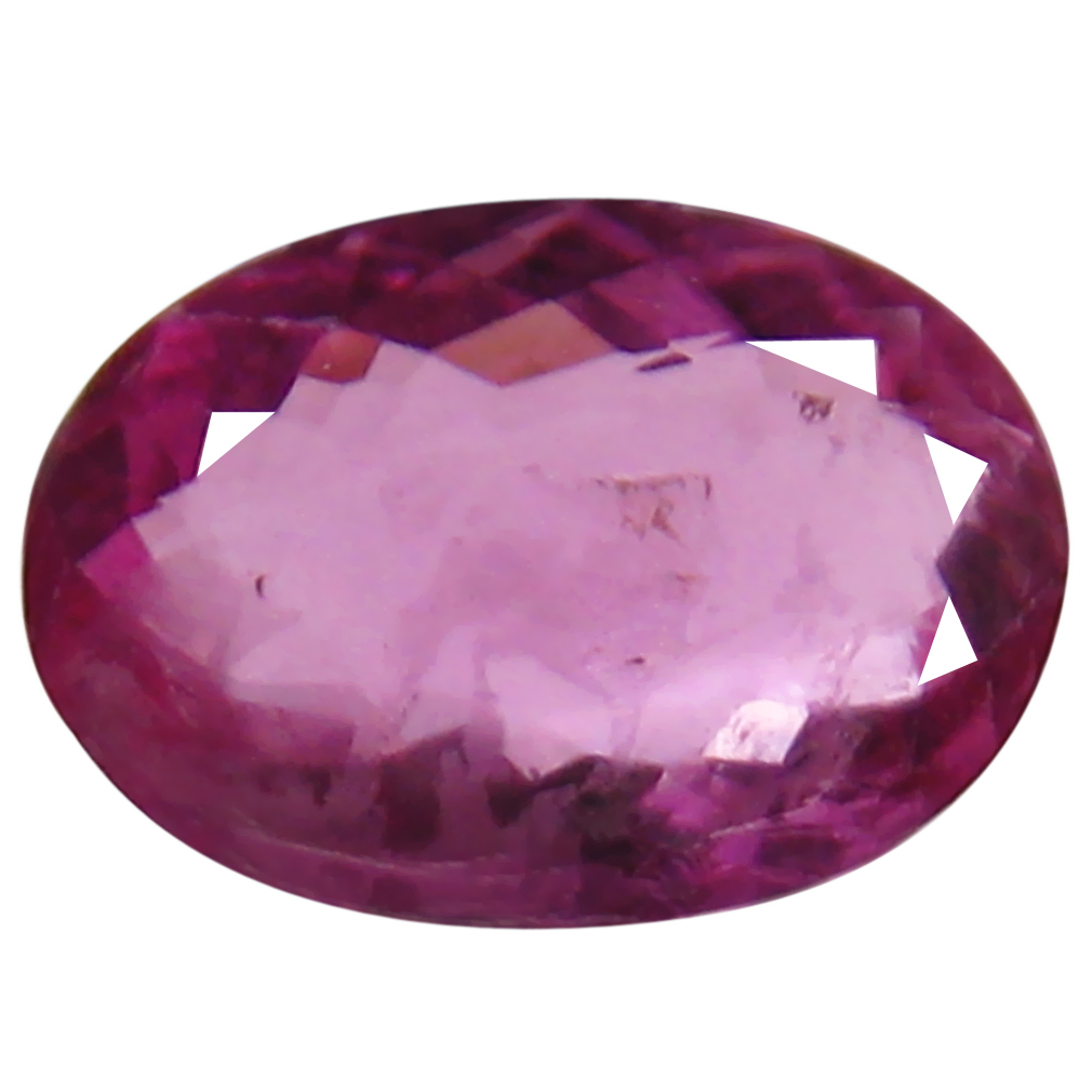 1.09 ct AAA+ Pretty Oval Shape (9 x 6 mm) Reddish Pink Rubellite Tourmaline Natural Gemstone