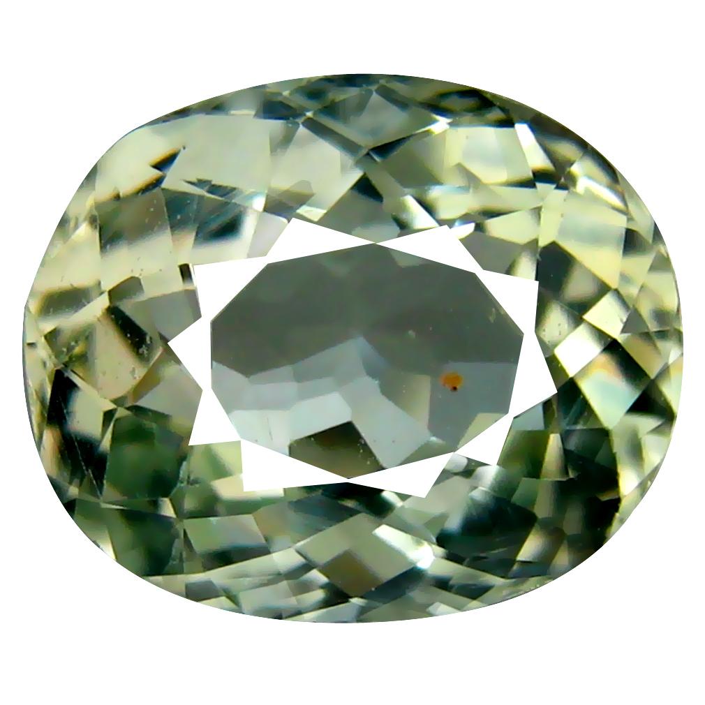 3.06 ct Stunning Oval Cut (10 x 9 mm) Mozambique Green Tourmaline Natural Gemstone