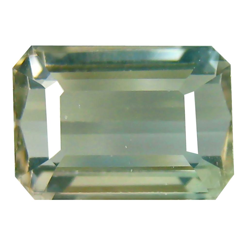 3.05 ct Grand looking Octagon Cut (10 x 7 mm) Mozambique Green Tourmaline Natural Gemstone