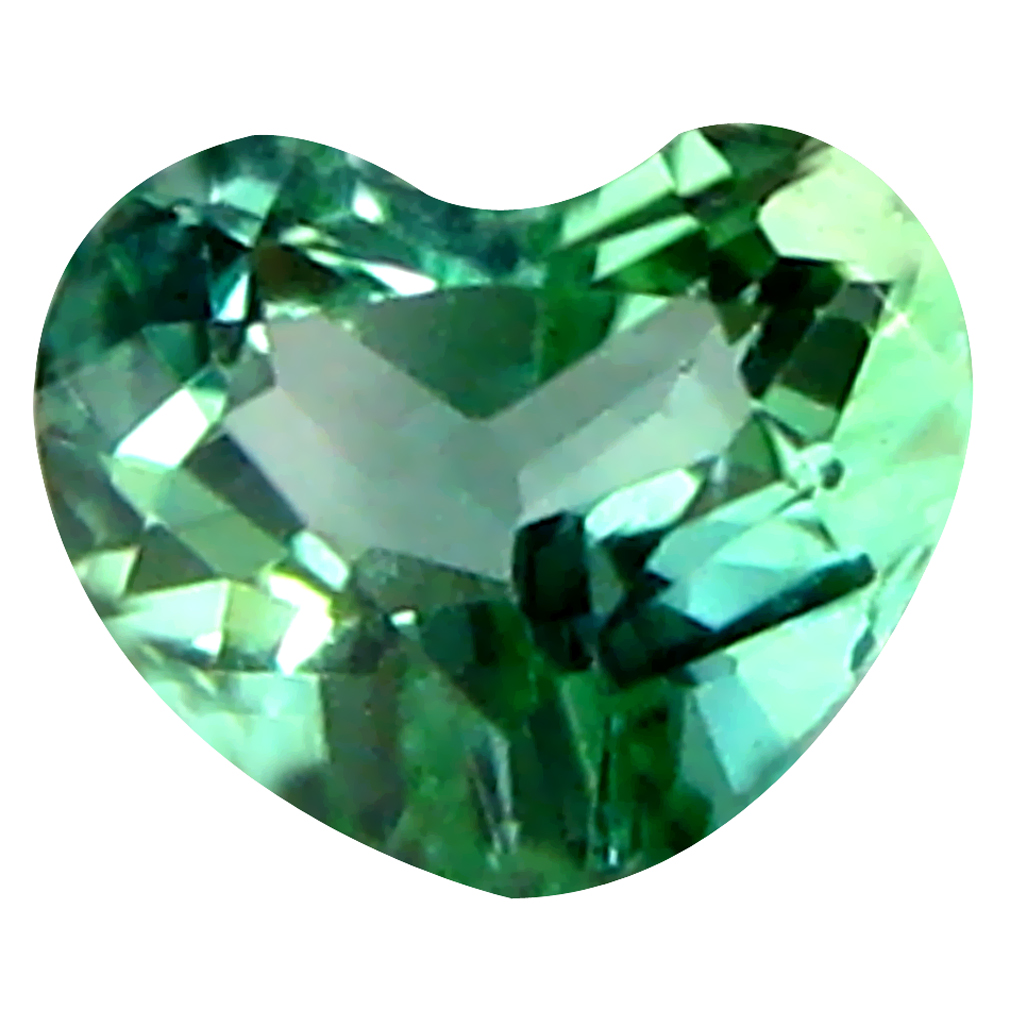 0.23 ct Magnificent fire Heart Cut (4 x 4 mm) Un-Heated Blue Indicolite Blue Tourmaline Natural Gemstone