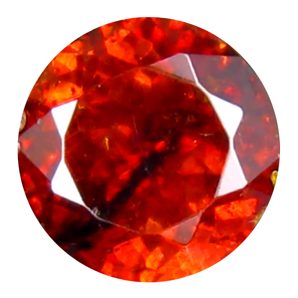 0.55 ct Beautiful Oval Cut (5 x 5 mm) Namibia Reddish Orange Spessartine Natural Gemstone