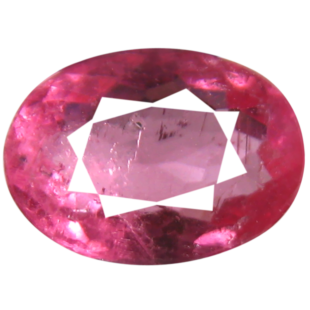 1.73 ct AAA+ Valuable Oval Shape (9 x 7 mm) Reddish Pink Rubellite Tourmaline Natural Gemstone