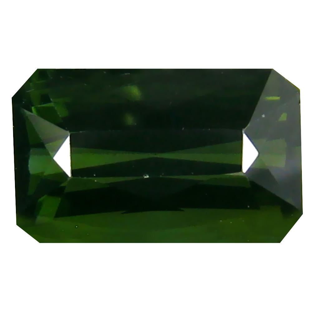 1.88 ct  Resplendent Emerald Shape (9 x 5 mm) Green Tourmaline Natural Gemstone
