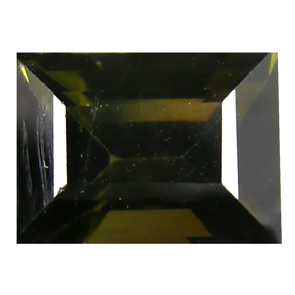 2.65 ct  Gorgeous Rectangular Shape (9 x 6 mm) Green Tourmaline Natural Gemstone