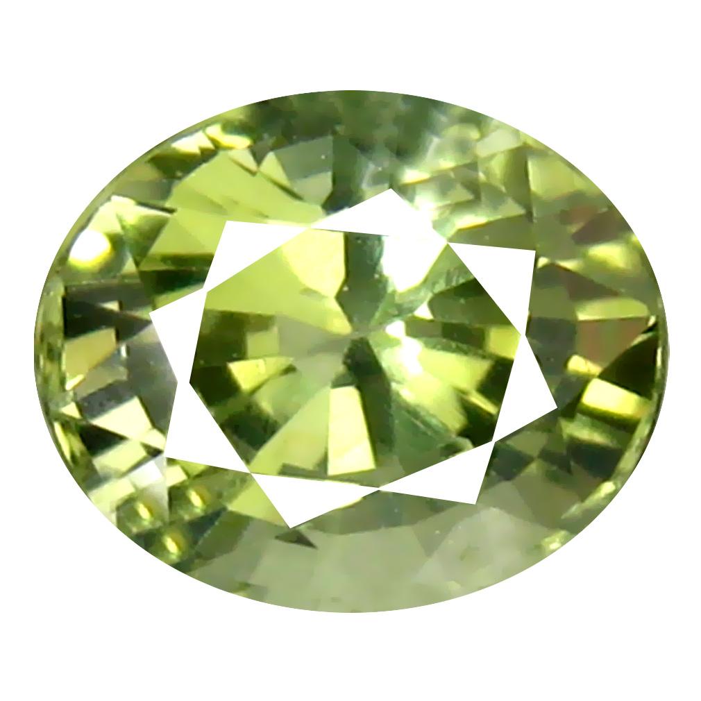 1.41 ct  Impressive Oval Shape (7 x 6 mm) Green Tourmaline Natural Gemstone