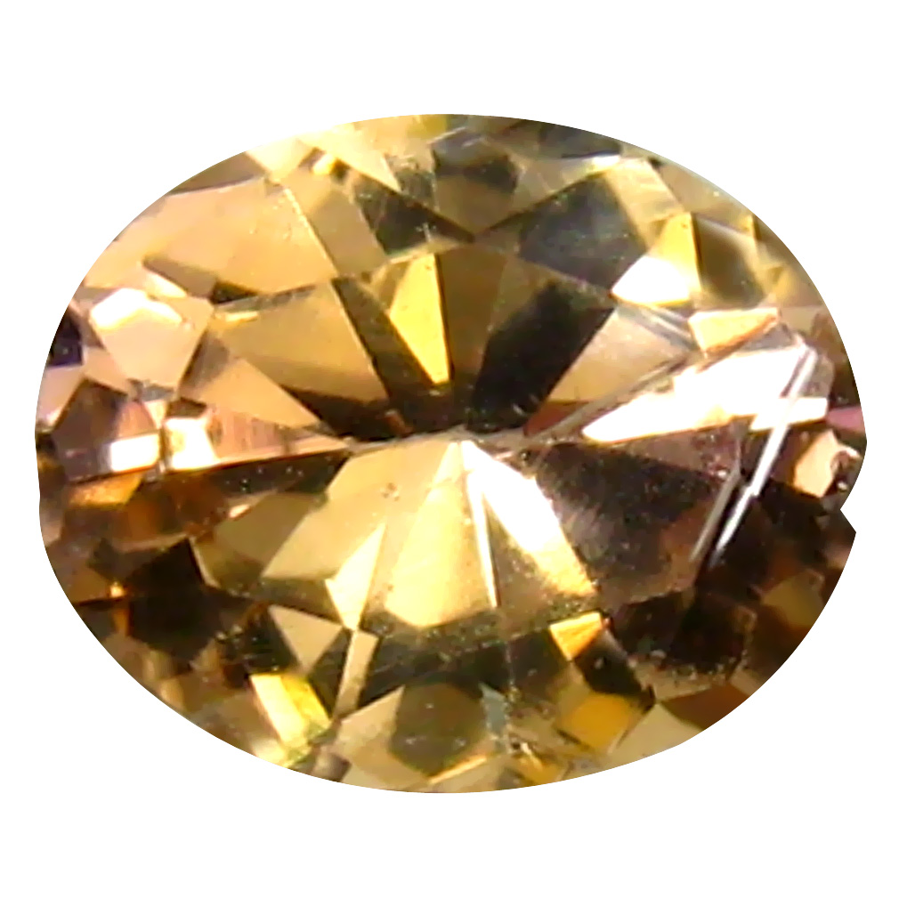 0.80 ct AAA+ Terrific Oval Shape (7 x 6 mm) Fancy Golden Yellow Tanzanite Natural Gemstone