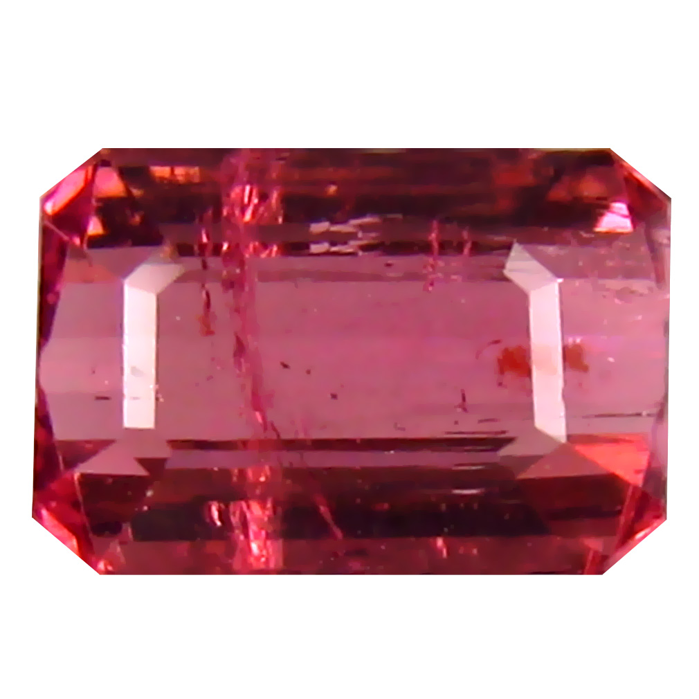 1.62 ct AA Wonderful Octagon Shape (8 x 5 mm) Pink Tourmaline Natural Gemstone