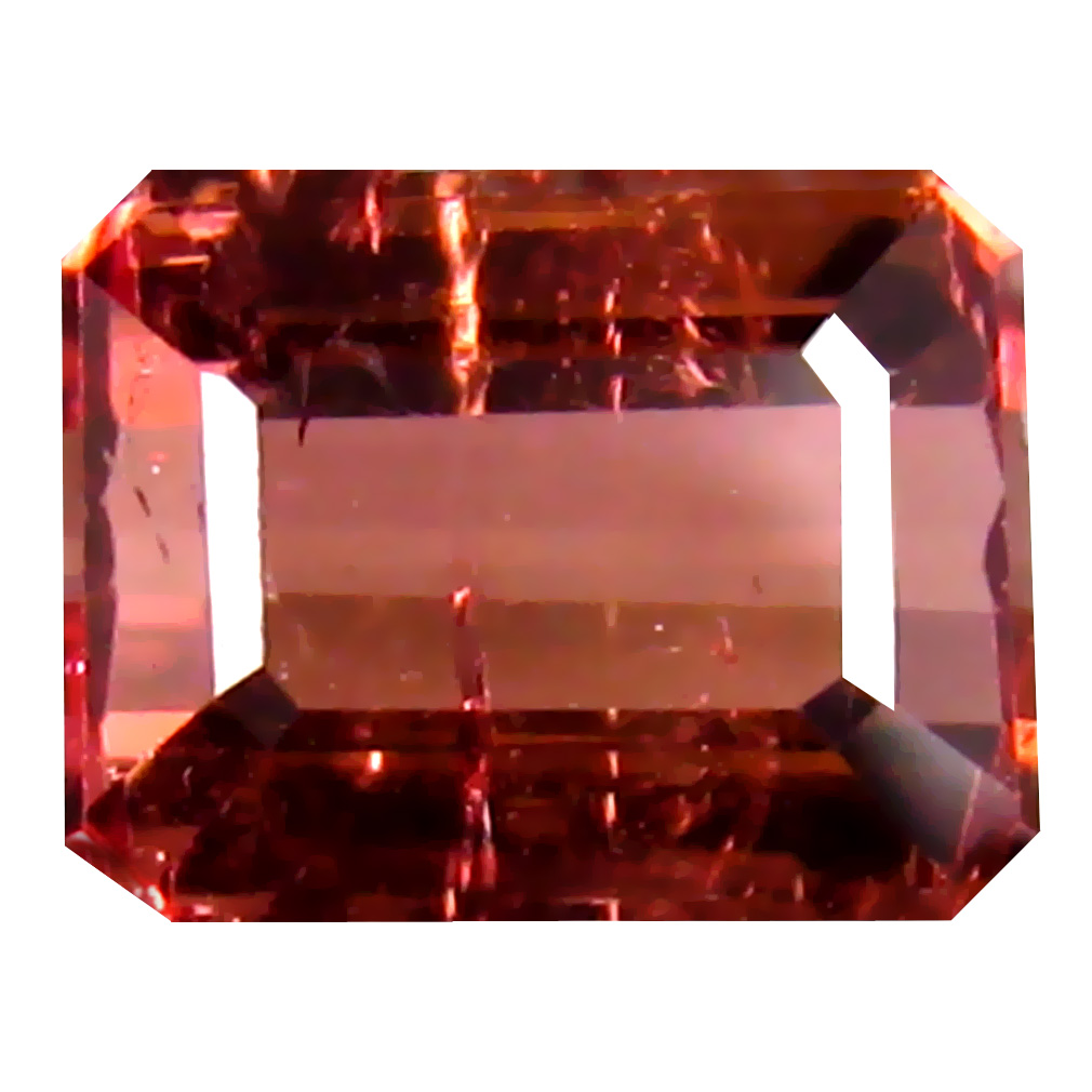 1.53 ct AA First-class Octagon Shape (7 x 6 mm) Pink Tourmaline Natural Gemstone