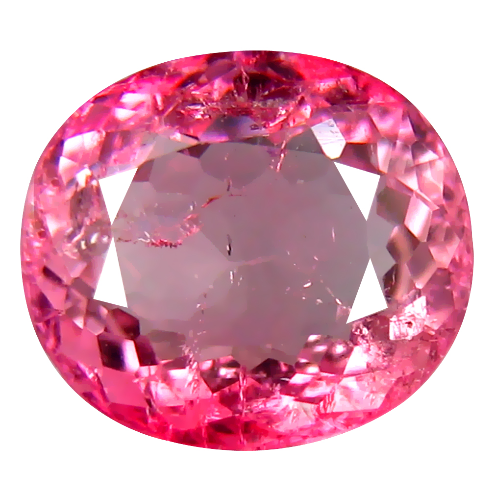 1.81 ct AAA Dazzling Oval Shape (8 x 7 mm) Pink Tourmaline Natural Gemstone