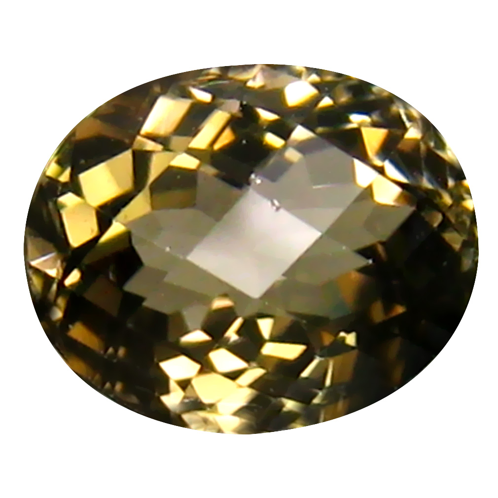 2.02 ct  Superior Oval Shape (9 x 7 mm) Brownish Yellow Tourmaline Natural Gemstone
