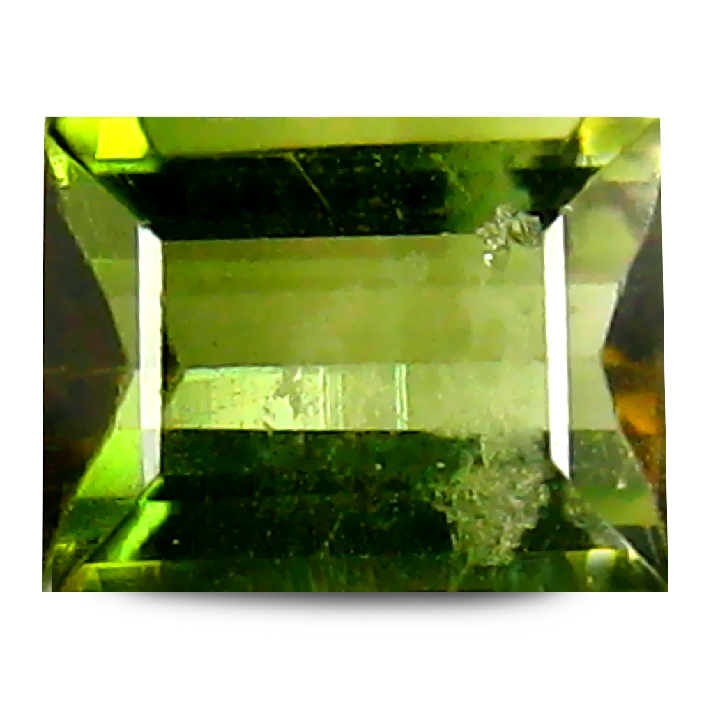 1.25 ct AAA Splendid Rectangular Shape (7 x 5 mm) Natural Green Tourmaline Loose Stone