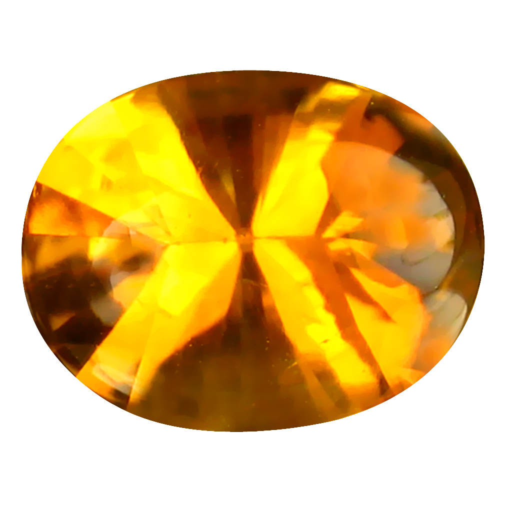 2.76 ct World class Oval (11 x 8 mm) Unheated / Untreated Brazil Madeira Citrine Loose Gemstone
