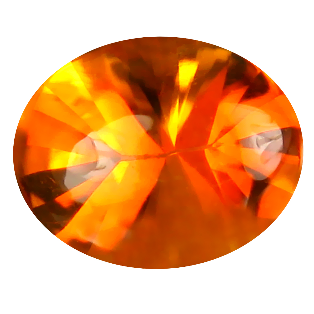 2.70 ct Fantastic Oval (10 x 8 mm) Unheated / Untreated Brazil Madeira Citrine Loose Gemstone