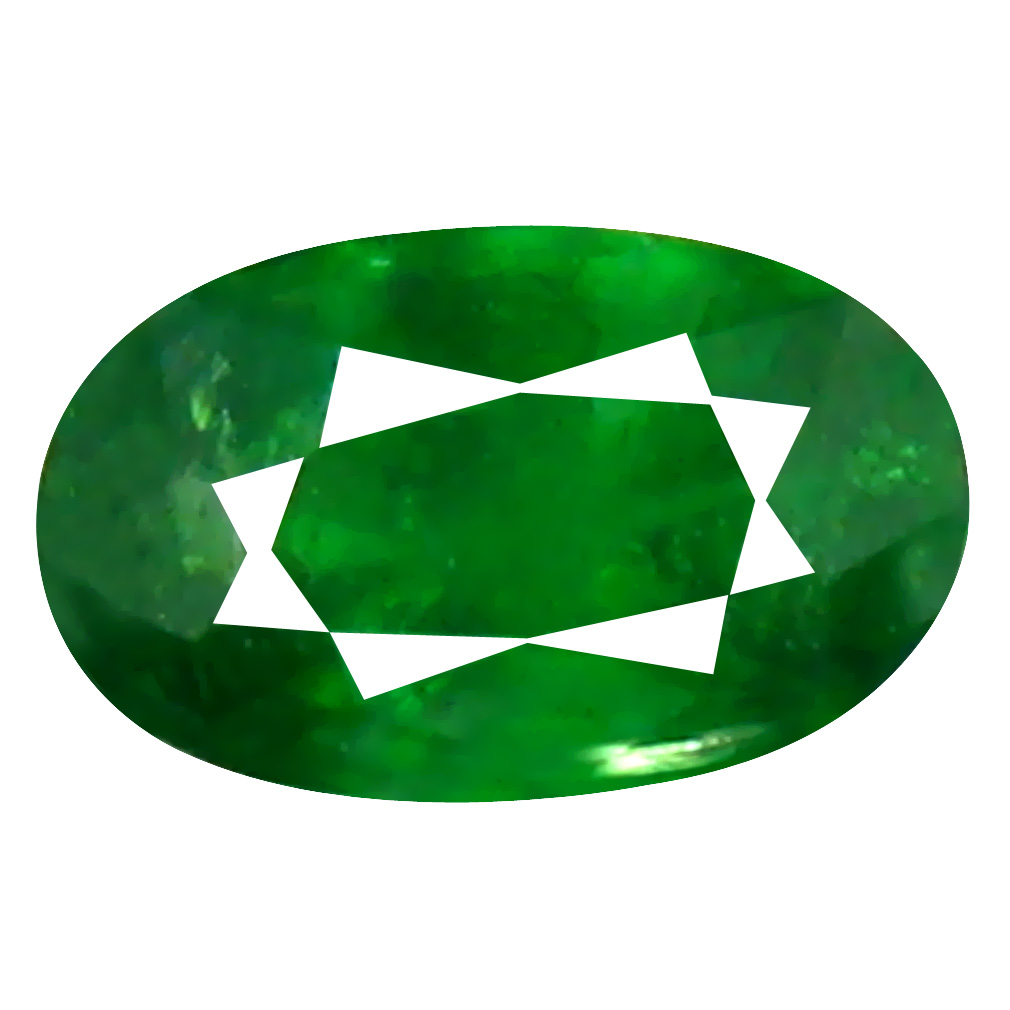 0.33 ct Valuable Oval Cut (5 x 3 mm) Tanzanian Green Tsavorite Garnet Loose Gemstone