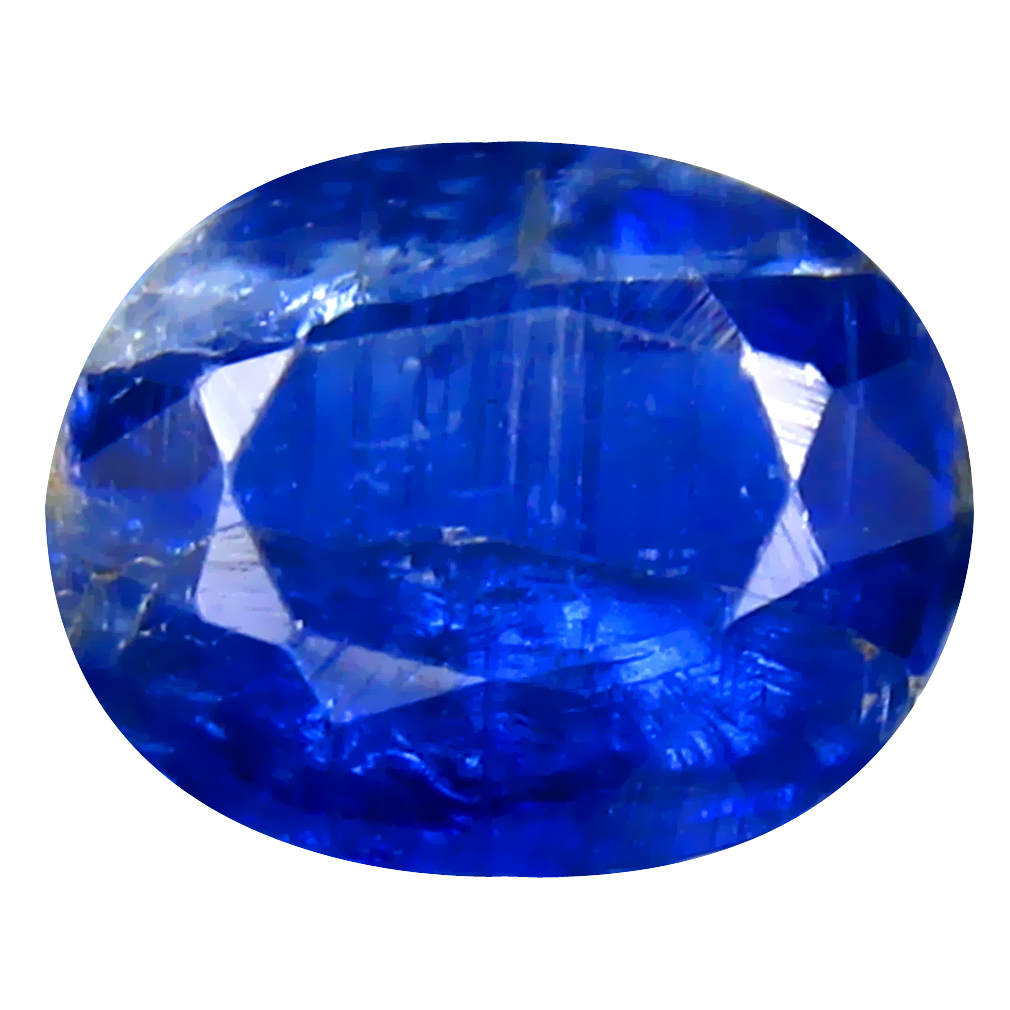 2.03 ct AA+ Attractive Oval Shape (9 x 7 mm) Blue Kyanite Natural Gemstone