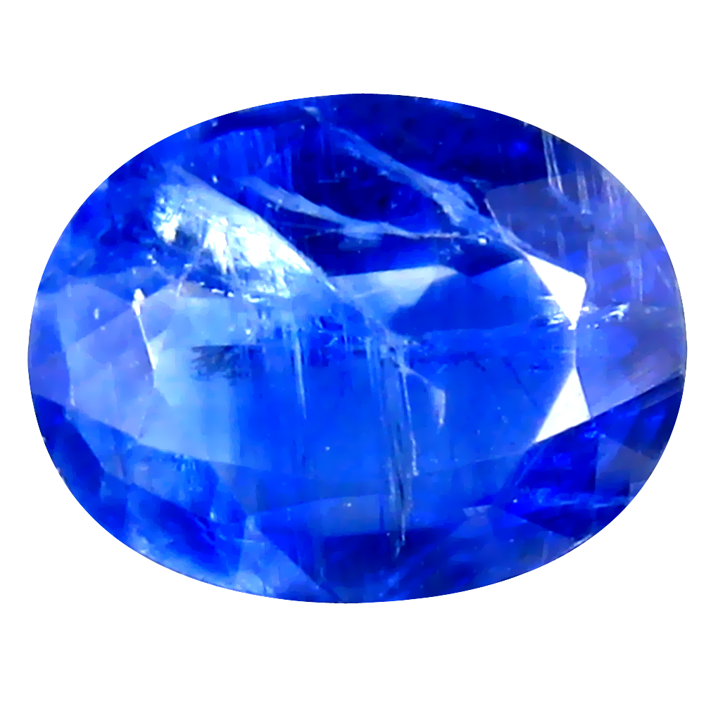 2.11 ct AA+ Super-Excellent Oval Shape (9 x 7 mm) Blue Kyanite Natural Gemstone
