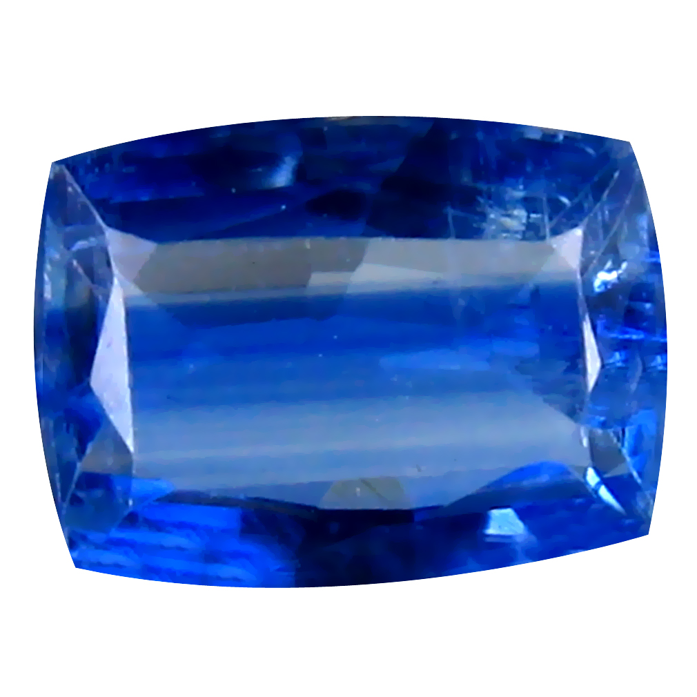 1.85 ct AA+ Attractive Cushion Shape (8 x 6 mm) Blue Kyanite Natural Gemstone