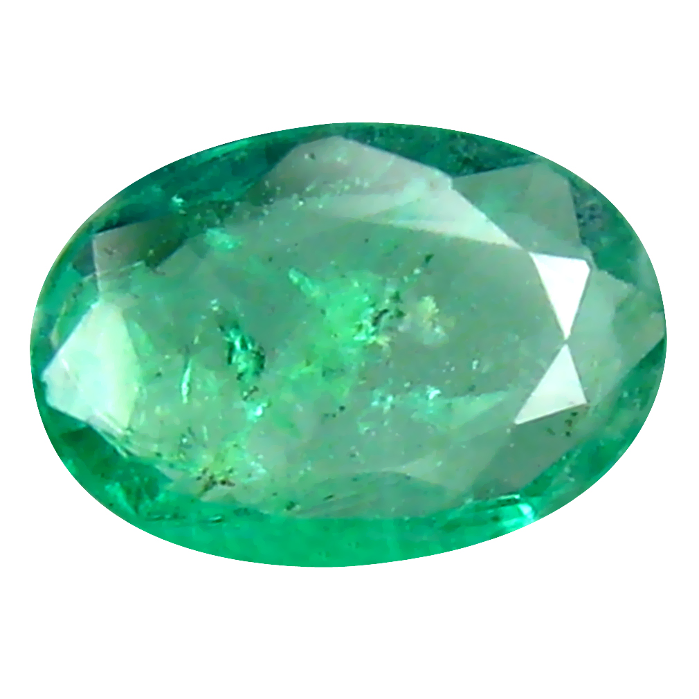 0.34 ct Spectacular Oval Cut (6 x 4 mm) Colombian Emerald Natural Gemstone
