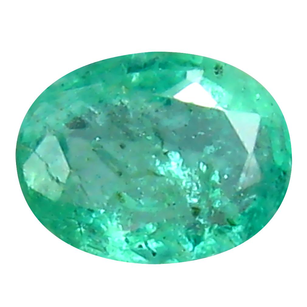 0.27 ct Fantastic Oval Cut (5 x 4 mm) Colombian Emerald Natural Gemstone