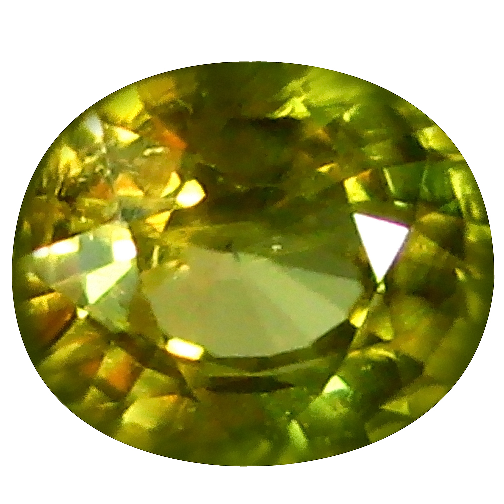 1.46 ct AAA+ Amazing Oval Shape (7 x 6 mm) Orange Yellow Zircon Natural Gemstone