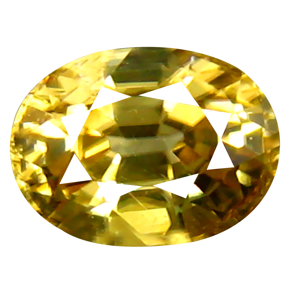 1.03 ct AAA+ Topnotch Oval Shape (6 x 5 mm) Golden Yellow Zircon Natural Gemstone