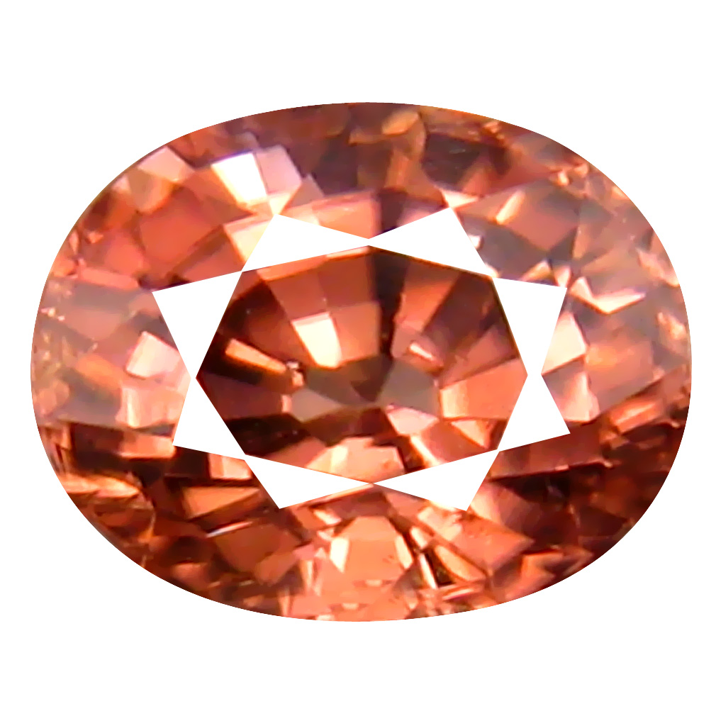 1.41 ct AAA+ Significant Oval Shape (6 x 5 mm) Fancy Brown Zircon Natural Gemstone