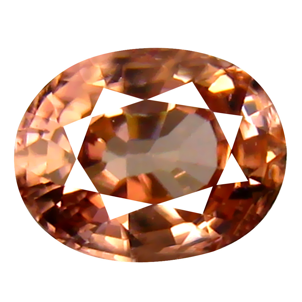1.20 ct AAA+ Spectacular Oval Shape (7 x 5 mm) Fancy Brown Zircon Natural Gemstone