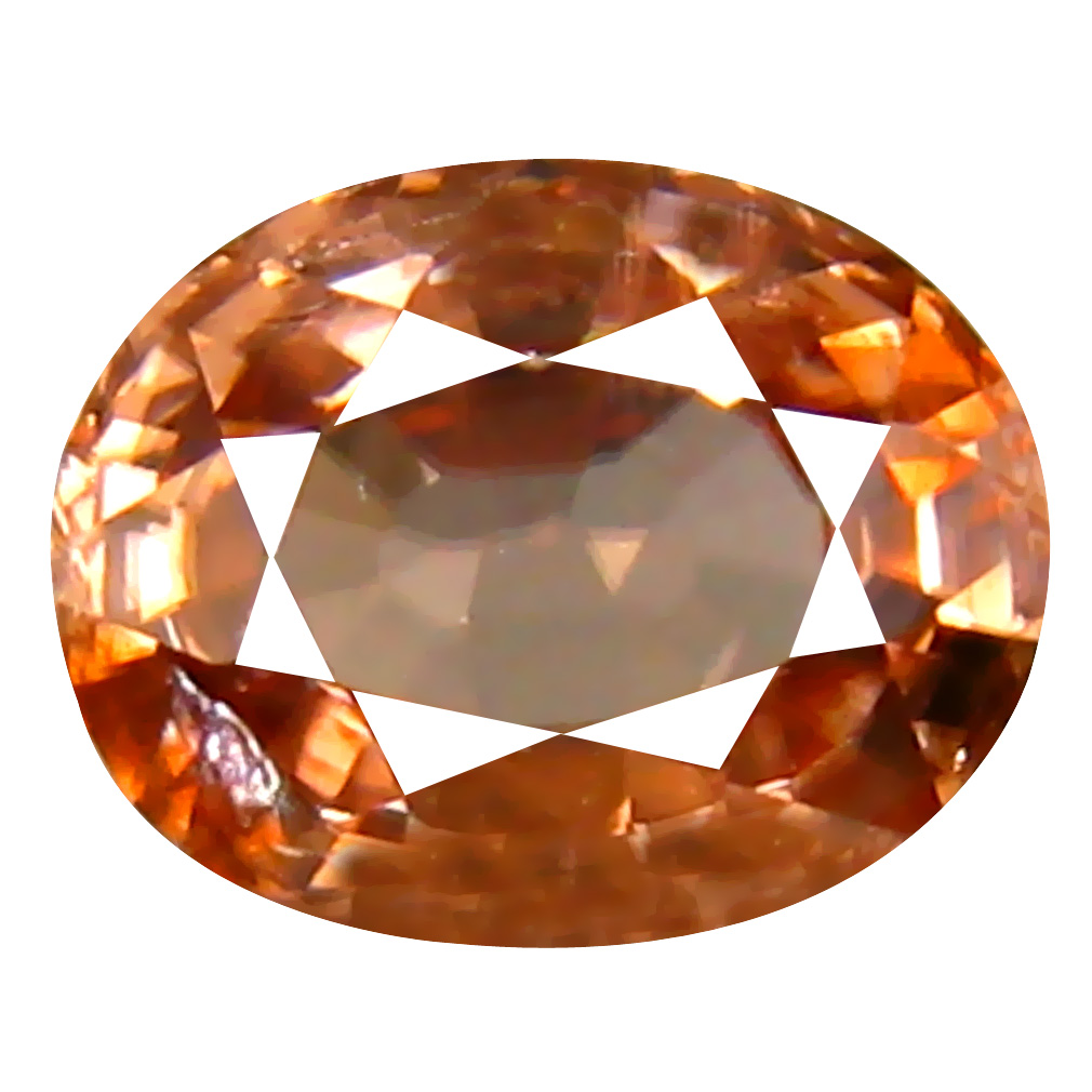 1.30 ct AAA+ Gorgeous Oval Shape (7 x 5 mm) Fancy Brown Zircon Natural Gemstone