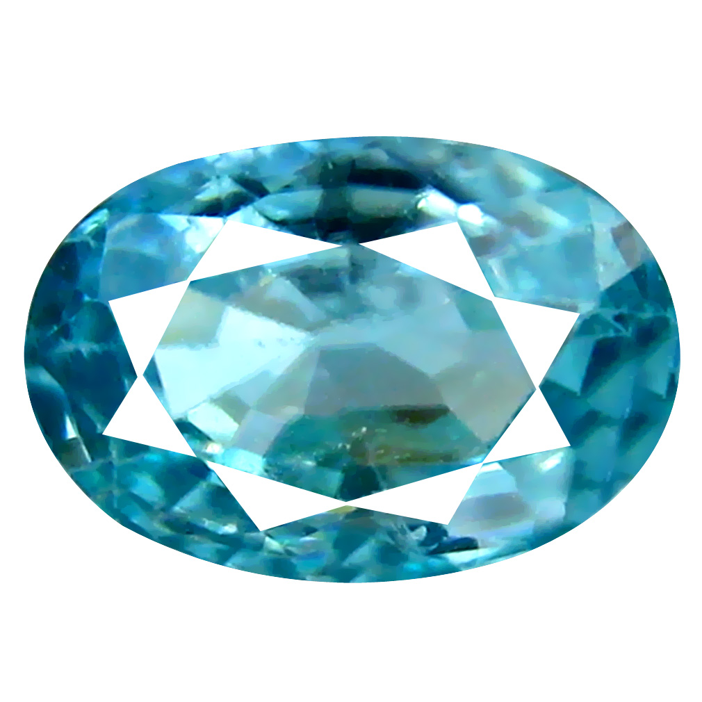 1.97 ct Attractive Oval Cut (9 x 6 mm) Cambodian Blue Zircon Natural Loose Gemstone