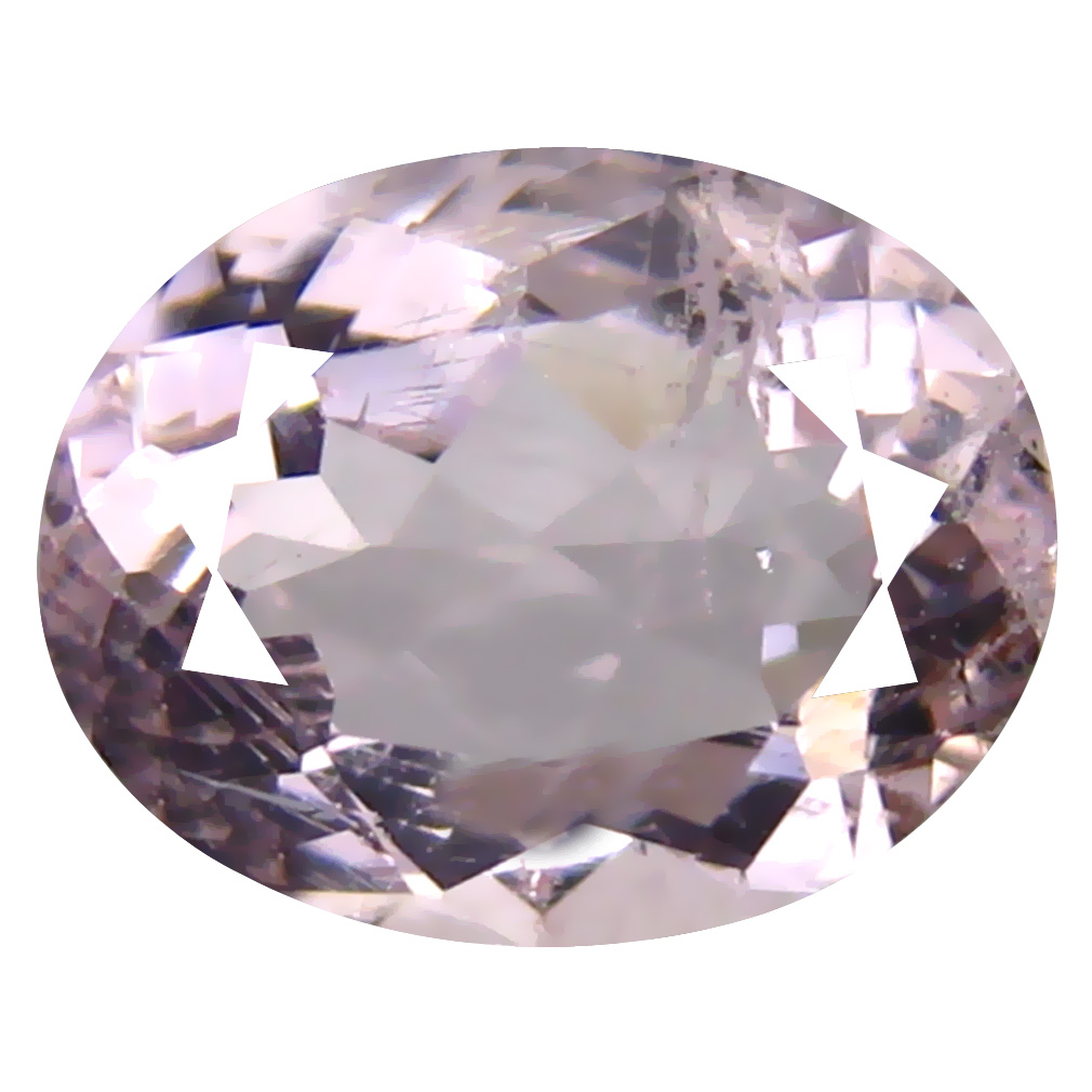 1.78 ct AAA Topnotch Oval Shape (9 x 7 mm) Pink Morganite Natural Gemstone
