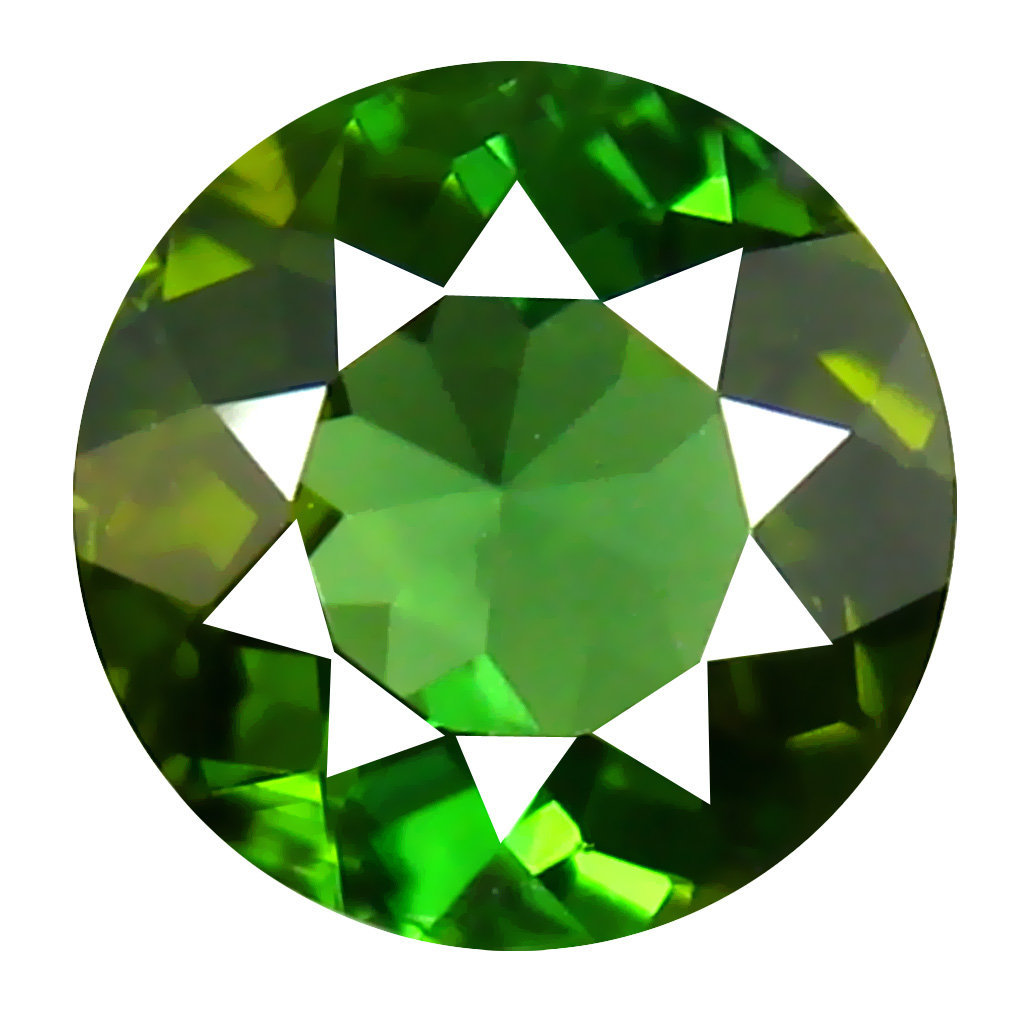 1.05 ct AAA Superior Pear Shape (7 x 6 mm) Natural Green Tourmaline Loose Stone