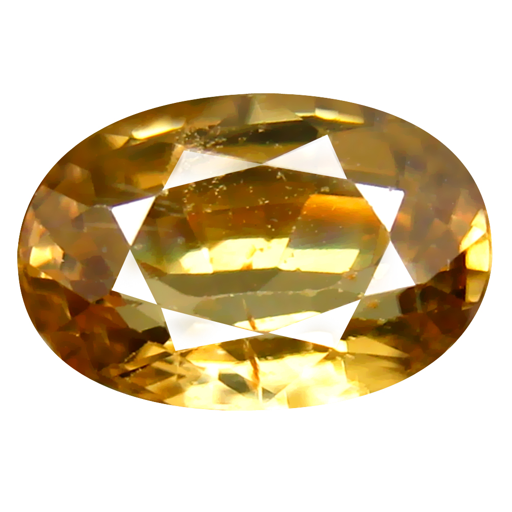 2.68 ct Significant Oval Cut (9 x 6 mm) Un-Heated Yellow Zircon Natural Gemstone