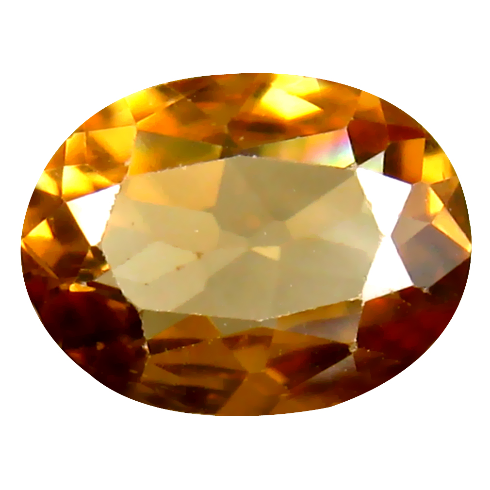 1.74 ct Spectacular Oval Cut (9 x 7 mm) Un-Heated Brownish Yellow Zircon Natural Gemstone