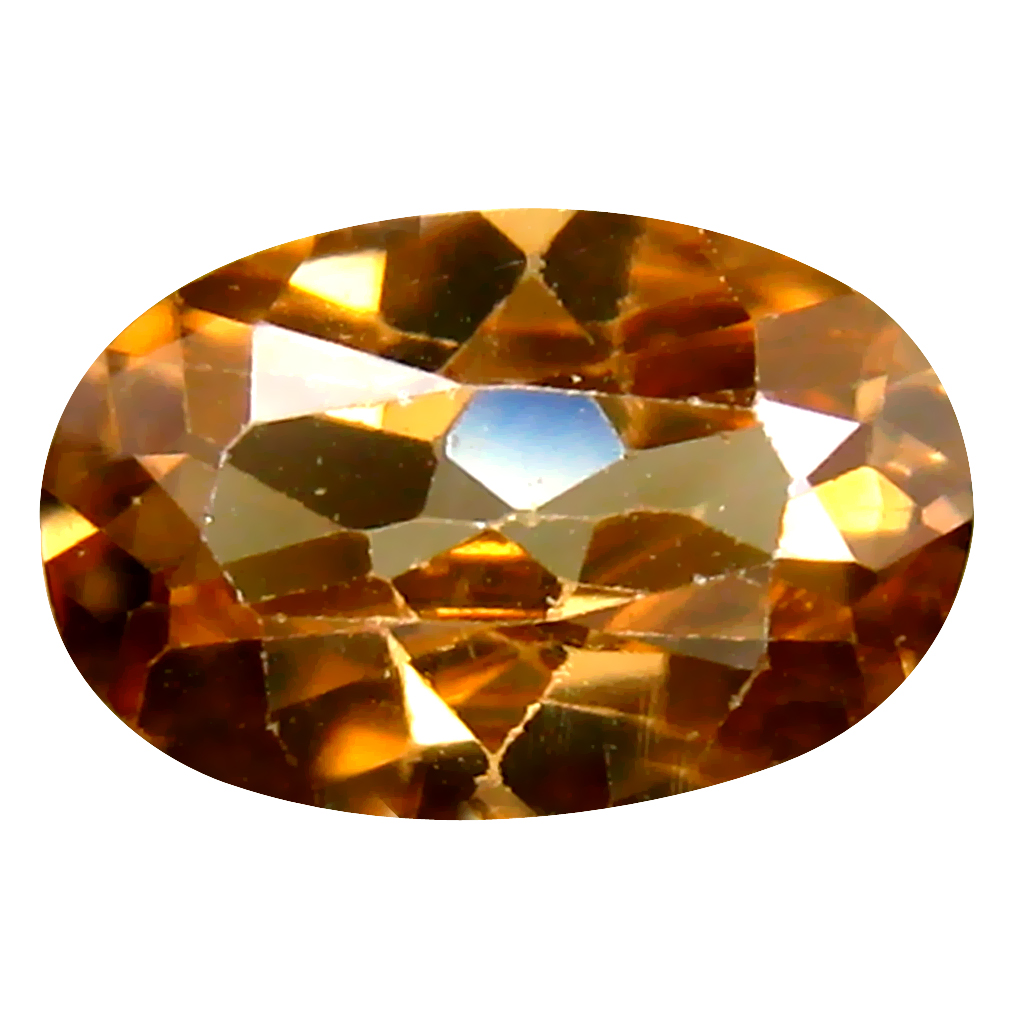 2.01 ct Astonishing Oval Cut (9 x 6 mm) Un-Heated Brownish Yellow Zircon Natural Gemstone