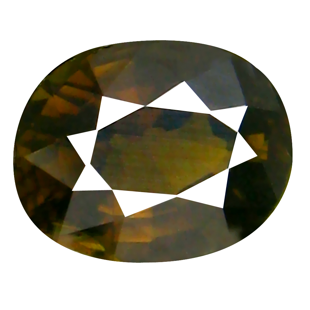 1.47 ct Eye-catching Oval Cut (8 x 6 mm) Mozambique Greenish Yellow Tourmaline Natural Gemstone