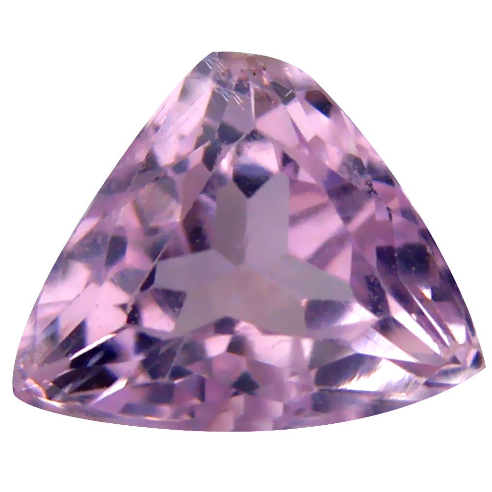 4.28 ct AAA Tremendous Triangle Shape (11 x 10 mm) Pink Kunzite Natural Gemstone