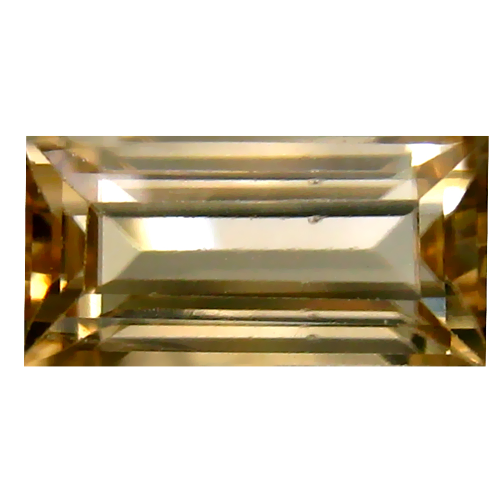 2.64 ct World class Octagon Cut (10 x 5 mm) Un-Heated Brown Zircon Natural Gemstone