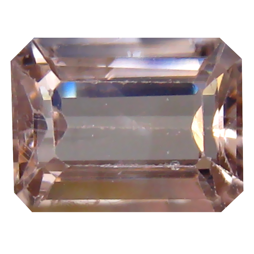 2.13 ct Five-star Octagon Cut (8 x 6 mm) Un-Heated Brown Zircon Natural Gemstone