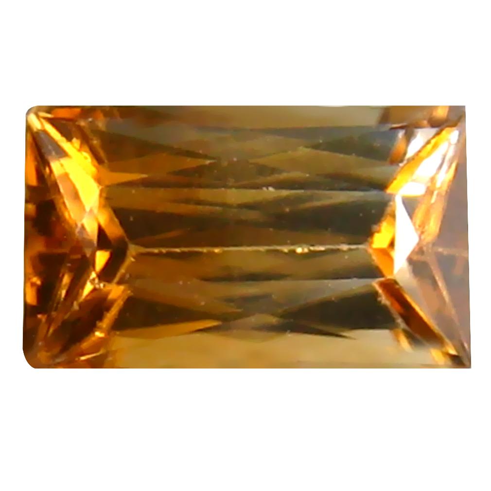 1.53 ct Mesmerizing Octagon Cut (8 x 5 mm) Un-Heated Brown Zircon Natural Gemstone