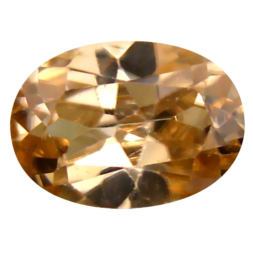 1.90 ct World class Oval Cut (9 x 6 mm) Un-Heated Brown Zircon Natural Gemstone