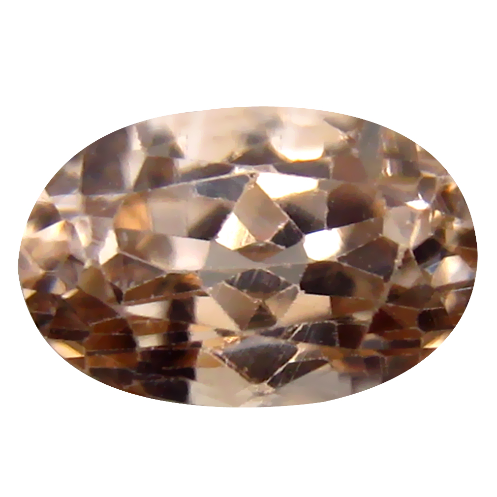 2.55 ct Gorgeous Oval Cut (9 x 6 mm) Un-Heated Brown Zircon Natural Gemstone
