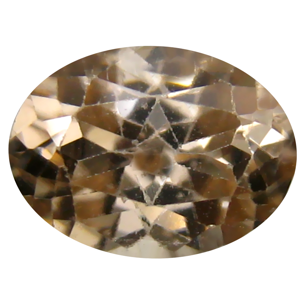 3.11 ct Remarkable Oval Cut (9 x 7 mm) Un-Heated Brown Zircon Natural Gemstone
